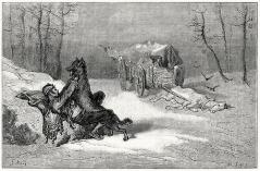 Noi i lupi non li abbiamo avuti - e i cavalli stavano bene.