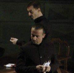Vario (Diego Fusari) e Clito (Andrea Flora)