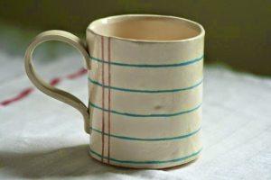 Notebook Paper Mug
