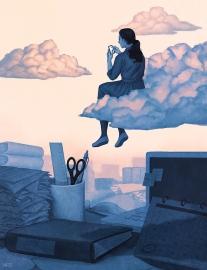 procrastination-clouds